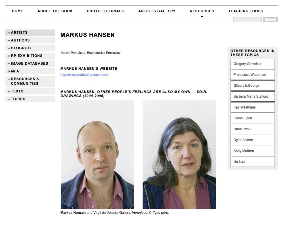 A photo of Markus Hansen.